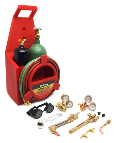 Forney 1753 Tote A Torch Light/Medium Duty, Torch Cutting and Welding Portable Kit
