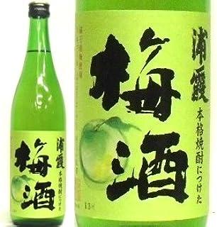 浦霞(宮城県・塩竈)、本格焼酎につけた梅酒 720ml/1本箱入り
