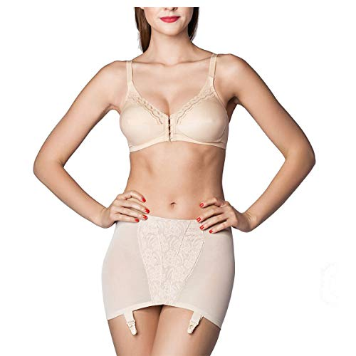 Miss Perfect Dessous Body Trim Hüfthalter Powernet in Hautfarben Größe 95