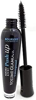 3 x Bourjois Paris Volume Glamour Push Up Mascara 7ml - T71 Black Waterproof