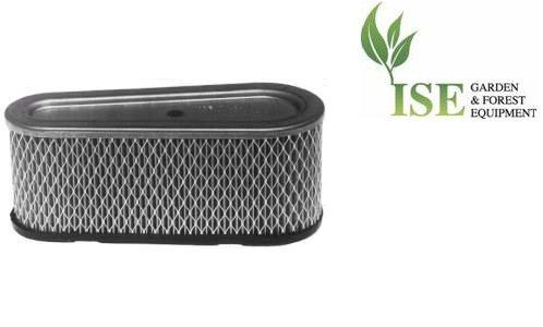Ise® Ersatz-Luftfilter für Briggs & Stratton 12hp - 12,5hp vertikaler Schaft, ersetzt Teilenummern: 496894, 691642, 493909