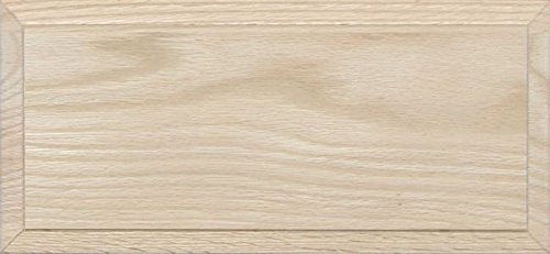 Unfinished Oak Flat Drawer Front with Edge Detail by Kendor, 6H x 13W