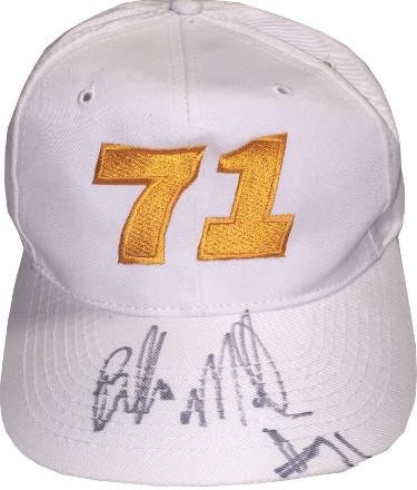 "Stephen DeJuan""Bubba"" Miller signed Tennessee Volunteers White Cap #71 - College Autographed Miscellaneous Items"