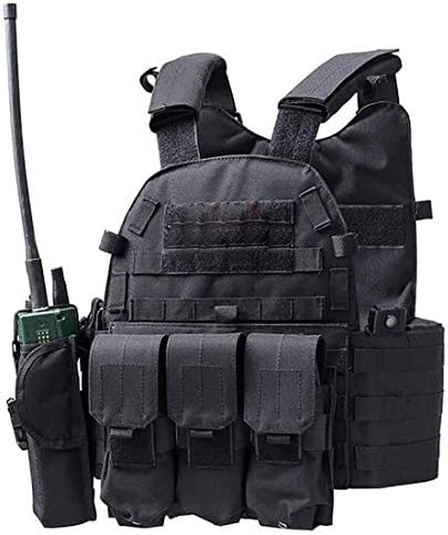 DMAIP Hunting Molle Tactical Vest Combat Security Training Tool Pouch Modoular Protective Durable product image