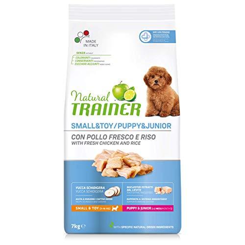 Trainer Natural Cibo per Cani Small & Toy Puppy & Junior Pollo Fresco 7kg