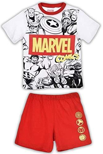 Avengers Niños Pijama Corto