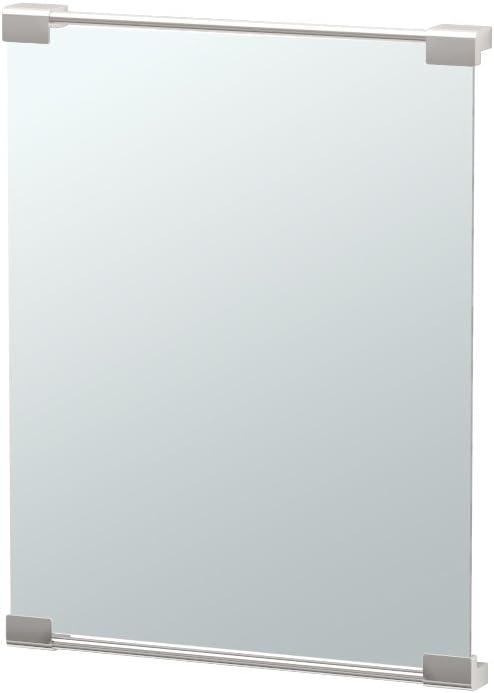 Gatco 1524 Fixed Mount Mirror Complete Free Jacksonville Mall Shipping Decor Satin Nickel
