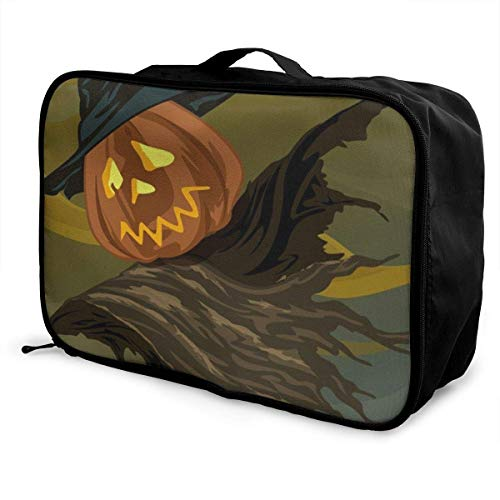 Qurbet Reisetaschen,Reisetasche, Lightweight Large Capacity Portable Duffel Bag for Men & Women Sea Egret and Hot Air Balloon Sport Duffel Bag Backpack