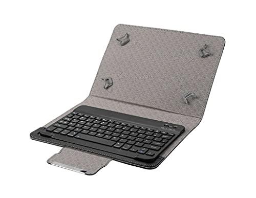 Funda Universal con Teclado ESPAÑOL Bluetooth Extraible para Tablet 9' A 11'