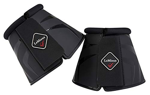 LeMieux Uniseks ProShell Over Reach para butów, czarne, duże