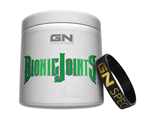 Special Edition GN Laboratories Bionic Joints Supp Zur Unterstützung Der Gelenke Bänder Sehnen Knochen Supplement Bodybuilding Fitness 450g inkl. Armband (Blood Orange)