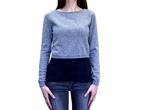 Top Jersey para Mujer Invierno 100% Cachemir - Made in Italy