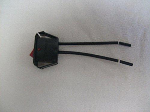 Hoover 28161075 Vacuum On/Off Switch Genuine Original Equipment Manufacturer (OEM) Part Black