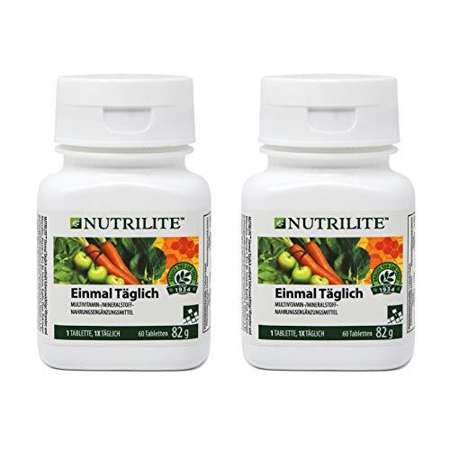 2 x Einmal Täglich Normalpackung NUTRILITE - 2 x 60 Tabletten / 82 g - Amway - (Art.-Nr.: 4215)