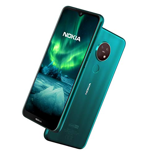 Nokia 7.2 6.3 Inch Android UK SIM-Free Smartphone with 4 GB RAM and 64 GB...