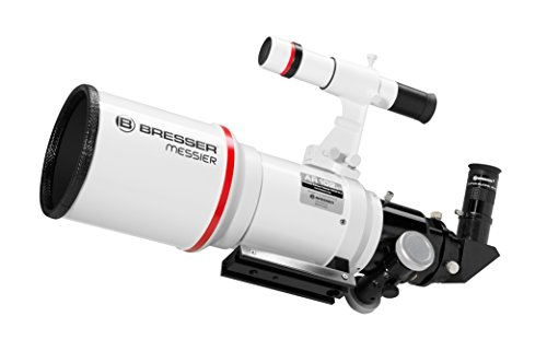 Bresser AR-102xs/460 - Telescopio con Reflector Hexagonal, Color Blanco