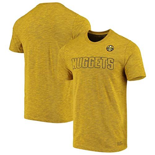 JNTM Basket NBA T-Shirt I Fan Maglia Traspirante Asciugatura Rapida Athletics Cation Abbigliamento per L'Estate dei Giovani Felpa S-XXXL Denver Nuggets-S