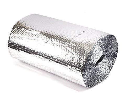 Solar Bay Metallic Polymer Doppel Folie Blasen Isolierung, Übergeordnet - Single 25m2 (1 x 25m)