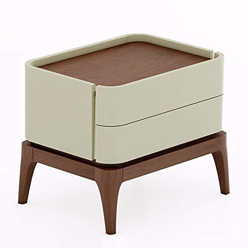 YAzNdom Nachtkastje, 360 graden rond, kleine Scandinavische dressoir, mini-slaapkamer, nachtkastje, salontafel, sofa-ideeën