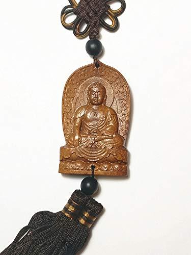 Collection Décoration à découper Chine (Kwan Yin en Bois Bouddha Statue)