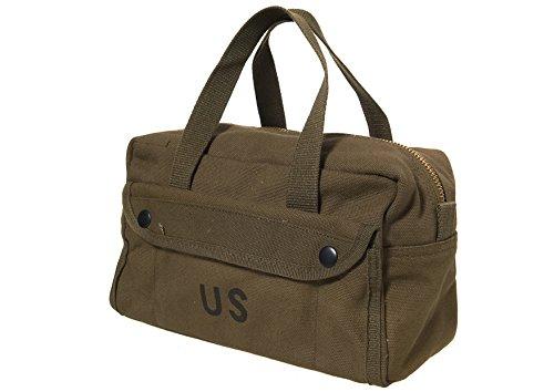US Army Tool Bag Canvas Kampftasche Werkzeugtasche Weekender Waschbeutel