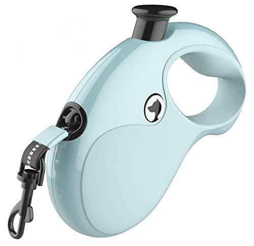 PINASE Klassische Rollleine Automatisches Teleskop-Zugseil für Hunde Mehrfarbig Haustierleine einziehbare Hundeleine (Blue)