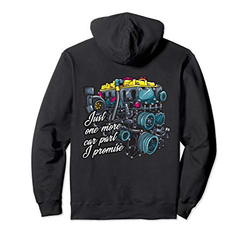 Just one more car part I promise Auto Tuning JDM Motor Pullover Hoodie