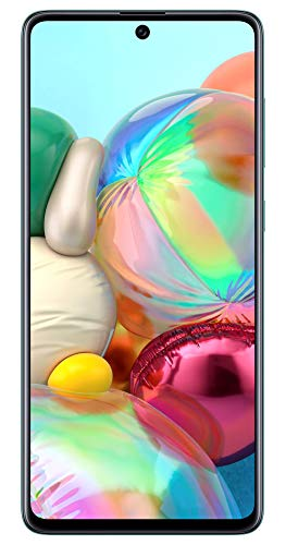 Samsung Galaxy A71 (Prism Crush Blue, 8GB RAM, 128GB Storage) with No Cost EMI/Additional Exchange Offers