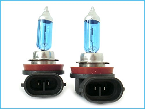 CARALL LX1112 Lampada H11 12V 55W PGJ19-2 Con Effetto XENON Super Bianco