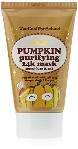 Too Cool For School Pumpkin Purifying 24K Mask, Talla Única, Pack de 1