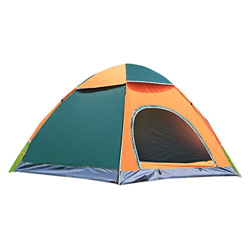 Zhang Yuejiang Outdoor camping vouwen automatische tent 3-4 personen strand eenvoudige snelheid open