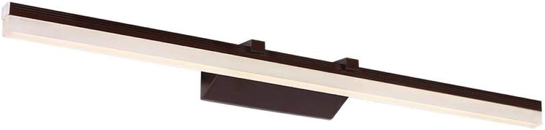 AOHMG Spiegellampen Bad, europische Wasserdicht Edelstahl LED Badleuchte Badlampe, Neutralweiss Spiegelschrank Leuchte,60cm-12w