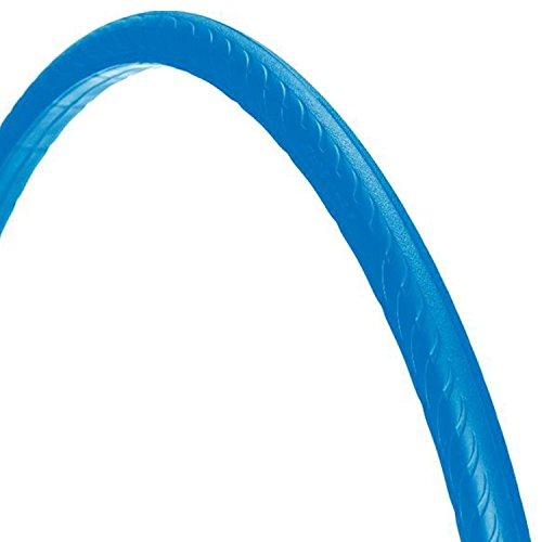 Tannus 700 x 25C, High-Tech-Polymer - Reifen, ohne Luft' solid Fixie Singlespeed Reifen Aither 1.1, Farbe:blau