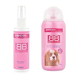 Ancol Cologne Set, Pink, 300ml
