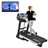 Live workout sessions from OneFitplus Studio & Earn Healthcoins In-box Content: 1 x Treadmill Motor type:DC-Motorised | Motor horsepower data : 2.25HP Continuous ( 4.5HP Peak) Speed:0.8-14km/hr | Max Weight support: 110 Kilograms One year free ...