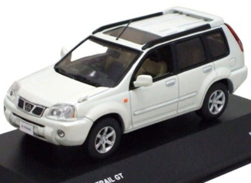 J-Collection 1/43 Nissan X-TRAIL GT (Pearl White) (japan import)
