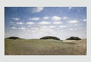 BiblioArt Series ハマスホイ「Landscape From Lejre」A5版額絵