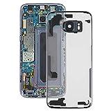 YEYOUCAI Piezas de reparación de teléfonos celulares Tapa Trasera Transparente de batería con Tapa de Lente de cámara para Samsung Galaxy S7 Edge / G9350 / G935F / G935A / G935V