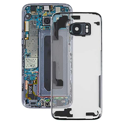 WANGZHEXIA Tapa trasera de repuesto para Samsung Galaxy S7 Edge, G9350, G935F, G935A, G935V, transparente