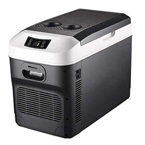 HXCLYQ Nevera Portátil Eléctrica (28litros) - Mini Congelador Frigorífico Pequeño, Funciona con...