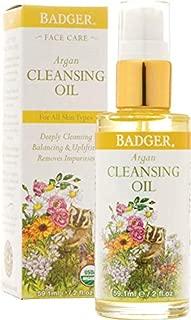 Badger Argan Face Cleansing Oil - 2 oz