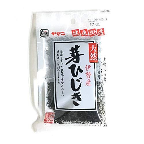 芽 ひじき 天然 伊勢産 乾燥 ヒジキ 16g