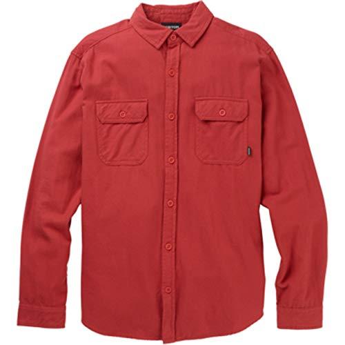 Burton - Chemise en Flanelle Brighton Rouge Homme - Homme - Taille XL - Rouge