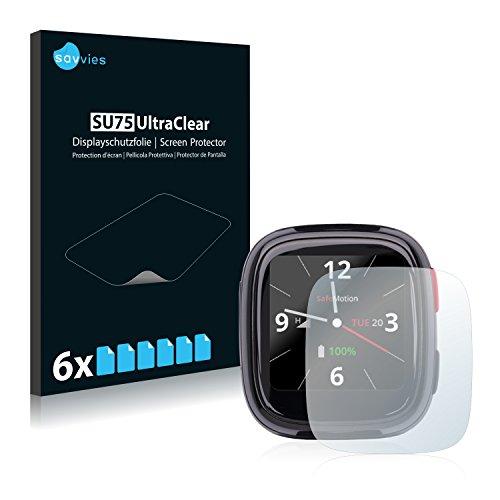 Savvies 6X Schutzfolie kompatibel mit SafeMotion S3 Bildschirmschutz-Folie Ultra-transparent