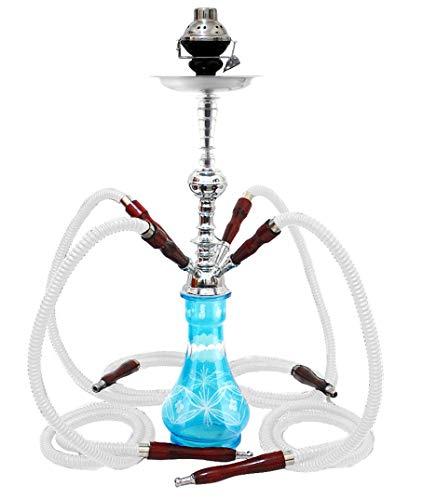 1-Hose LARGE Hookah Stem 3 Grommets Shisha narghile for hookah pipe smoking
