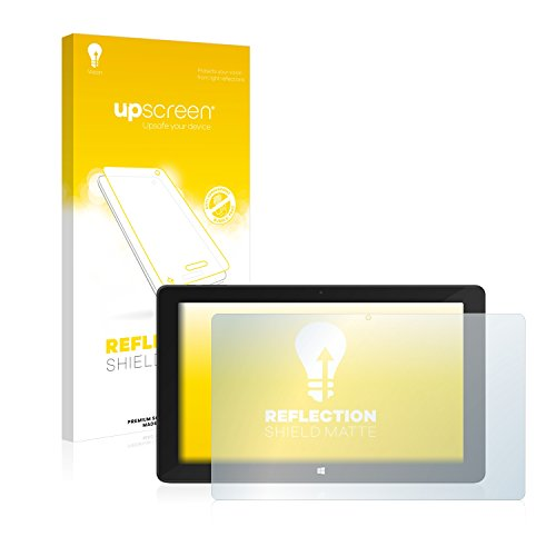 upscreen Entspiegelungs-Schutzfolie kompatibel mit TrekStor SurfTab Twin 11.6 (Volks-Tablet 2016) – Anti-Reflex Bildschirmschutz-Folie Matt