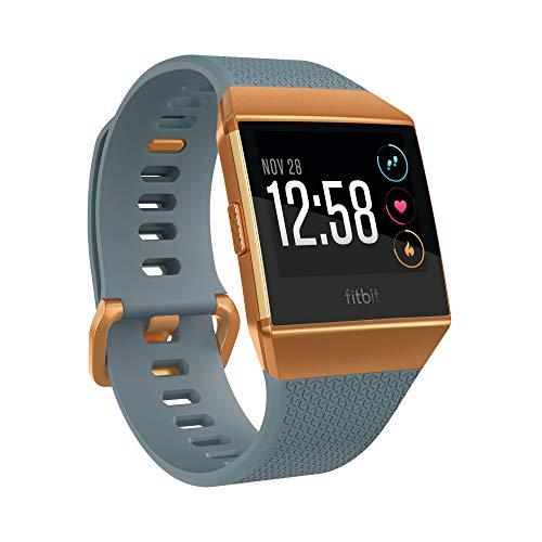 Fitbit Ionic Health & Fitness Smartwatch, Schieferblau und Kupferfarben,Einheitsgröße