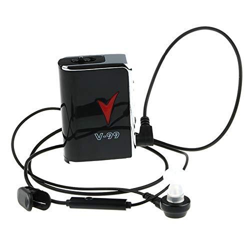 CX Best Hörgerät Digital Sound Persönlicher Hörverstärker Pocket Hearing Sound Voice Enhancer Hörhilfe für Fernsehen und Sprechen