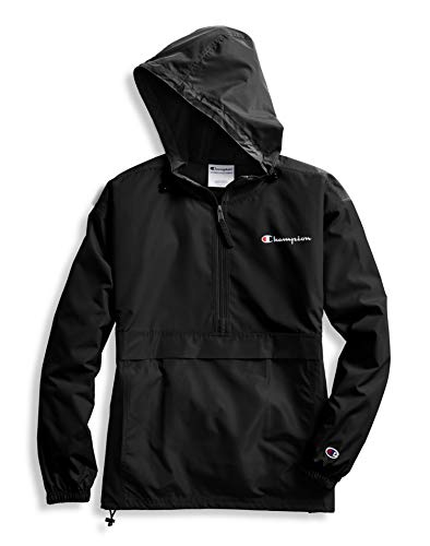 Champion Womens Packable Jacket Black MD