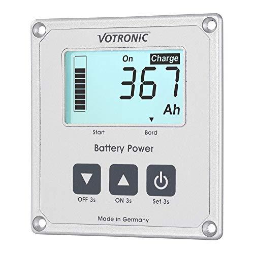 Votronic Batteriecomputer 100-S, incl 100 Amp-Shunt, Batterieklapazitätsanzeige